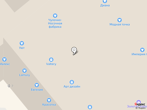 Конфетти на карте Иваново