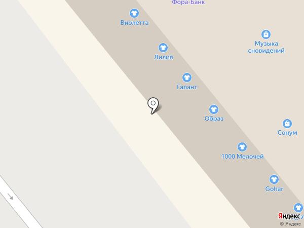 АКБ Фора-банк на карте Иваново