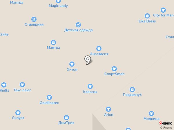 Швейная фабрика на карте Иваново