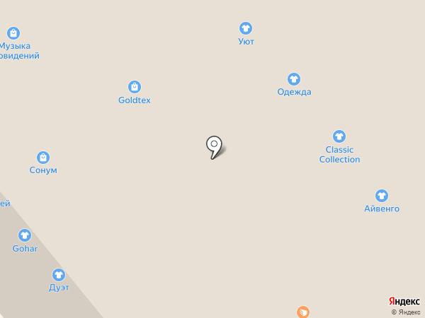 Венто на карте Иваново