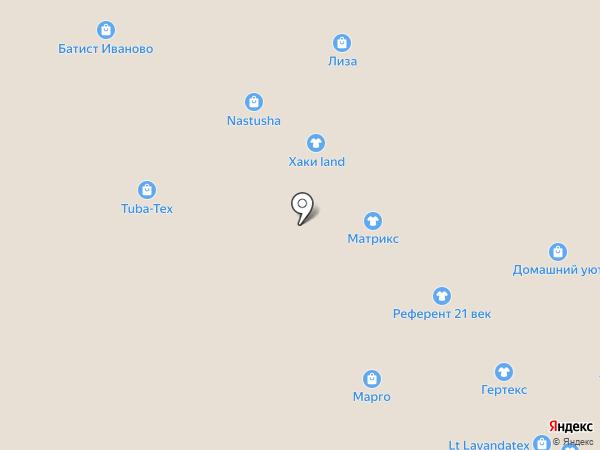 Униформа на карте Иваново