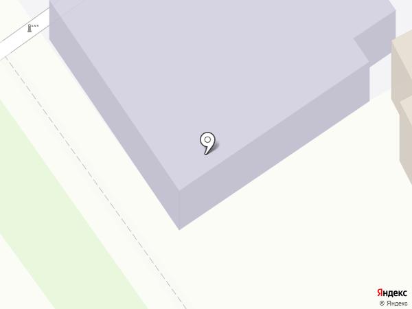 Детский сад №1 на карте Новокубанска