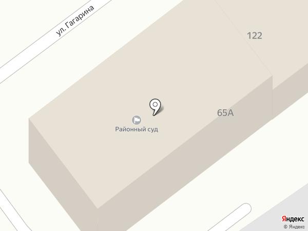 Новокубанский районный суд на карте Новокубанска