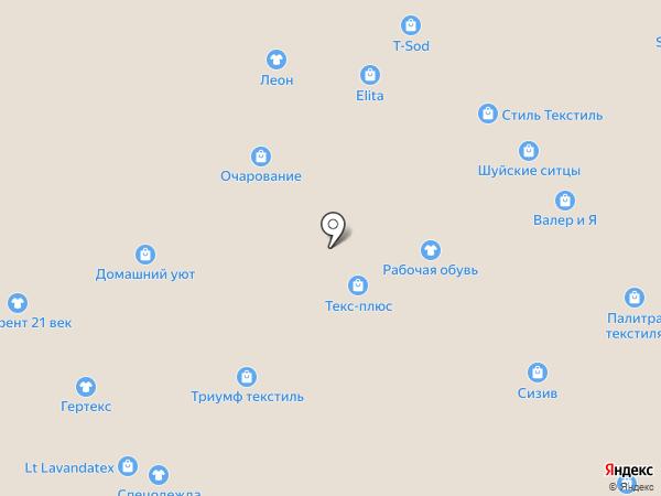Ивмодель на карте Иваново