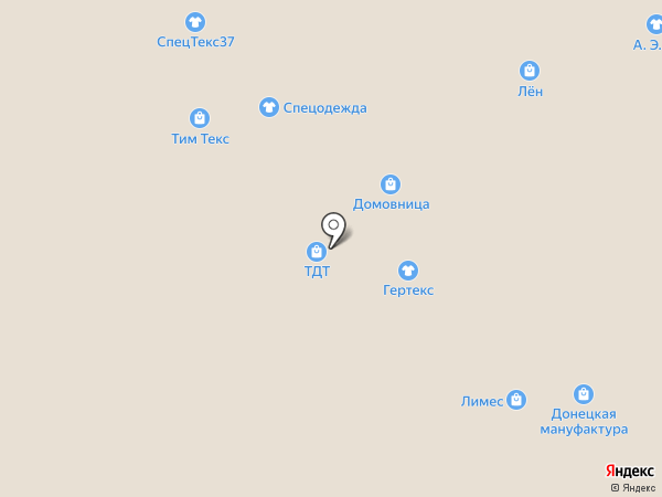 Гамлет на карте Иваново