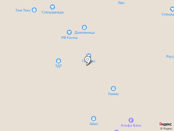 Соттекс на карте Иваново
