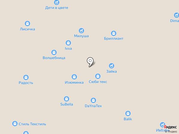 Сладких снов на карте Иваново
