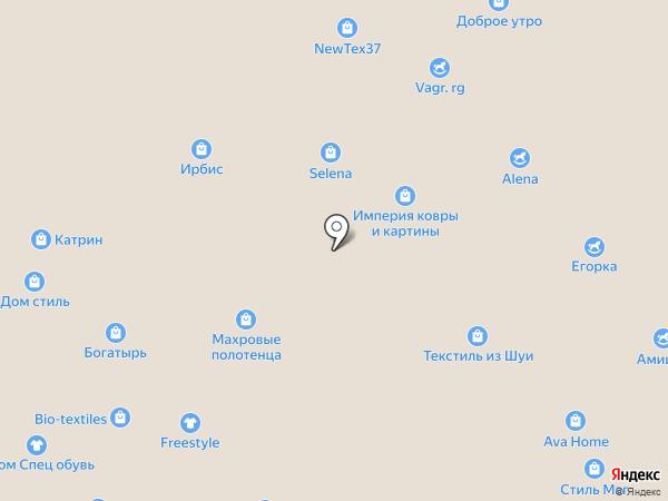 Малышок на карте Иваново