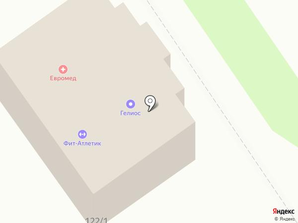 Гелиос на карте Новокубанска
