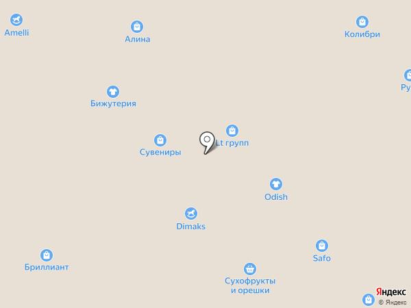 Магазин домашнего текстиля на карте Иваново