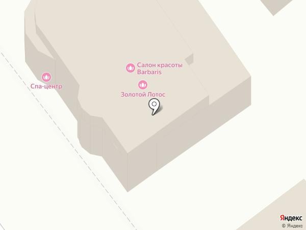 Золотой лотос на карте Новокубанска