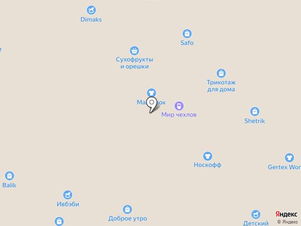 Магазин трикотажных изделий на карте Иваново