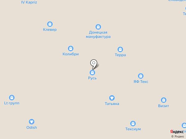 Магазин постельных принадлежностей на карте Иваново