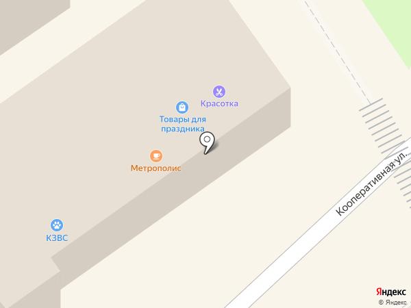 Красотка на карте Новокубанска