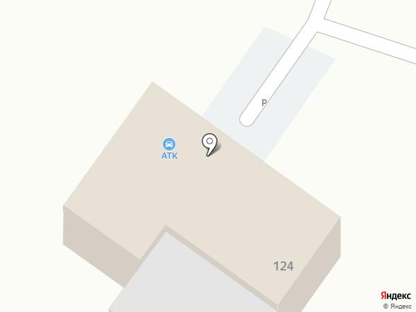АТК на карте Новокубанска