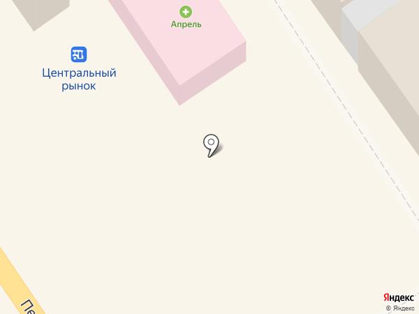 Апрель на карте Новокубанска
