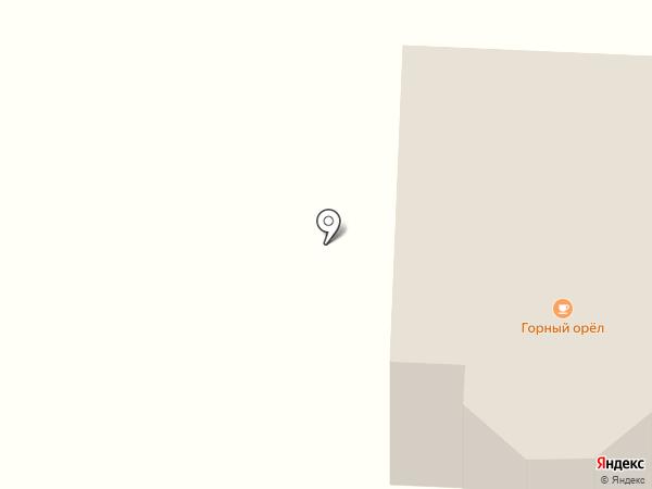 Горный орел на карте Фанерника