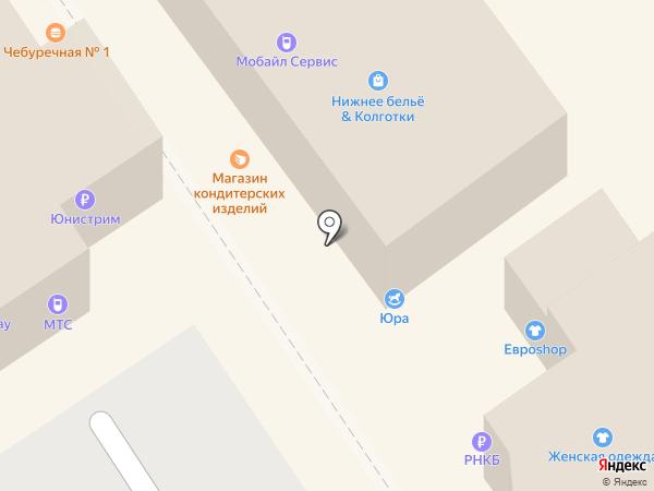 Магазин кондитерских изделий на карте Новокубанска