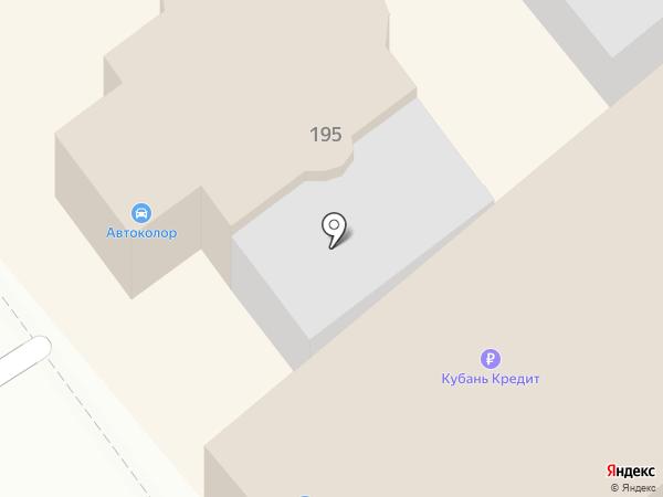АВТОколор на карте Новокубанска
