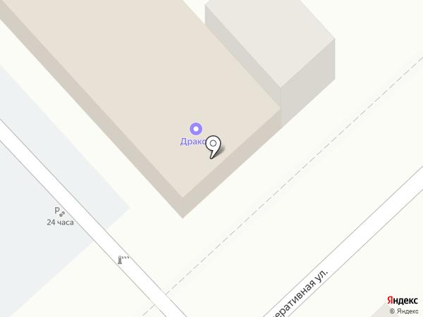 Автостоянка на карте Новокубанска