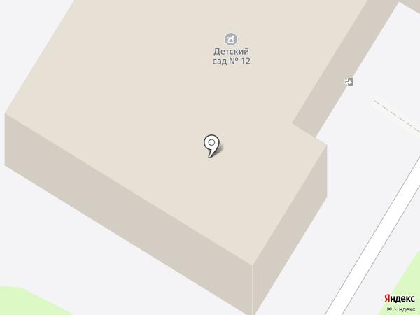 Детский сад №12 на карте Иваново