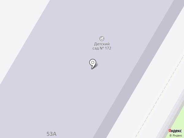 Детский сад №172 на карте Иваново