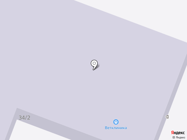 Ветеринарная клиника на карте Караваево