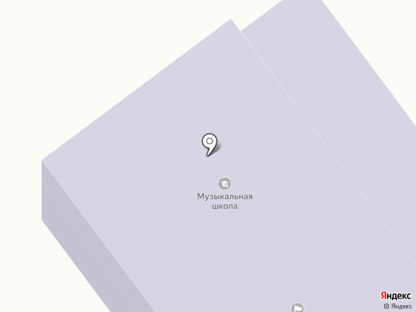 Детская музыкальная школа г. Новокубанска на карте Новокубанска