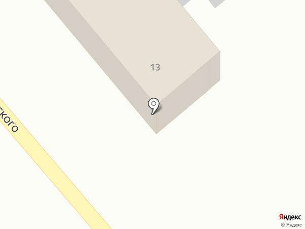 Ковчег на карте Новокубанска