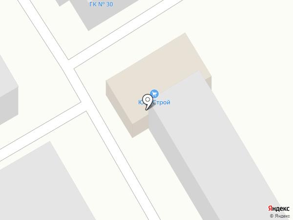ЮфоСтрой на карте Армавира