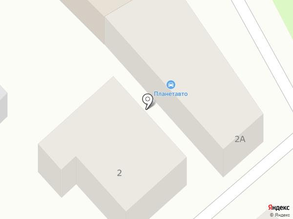 ПланетАвто на карте Армавира