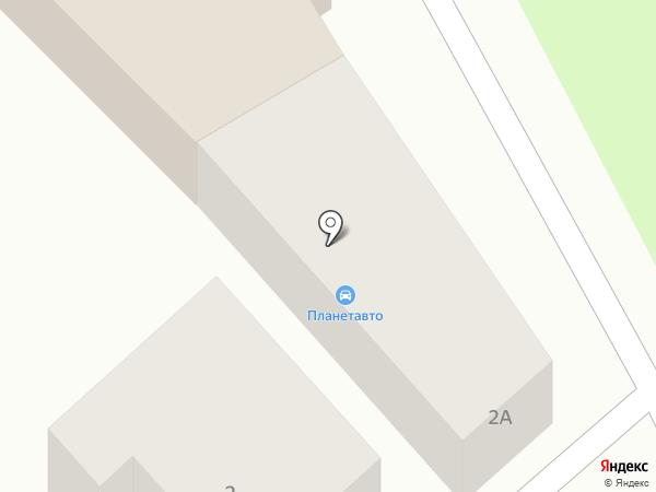 АС на карте Армавира