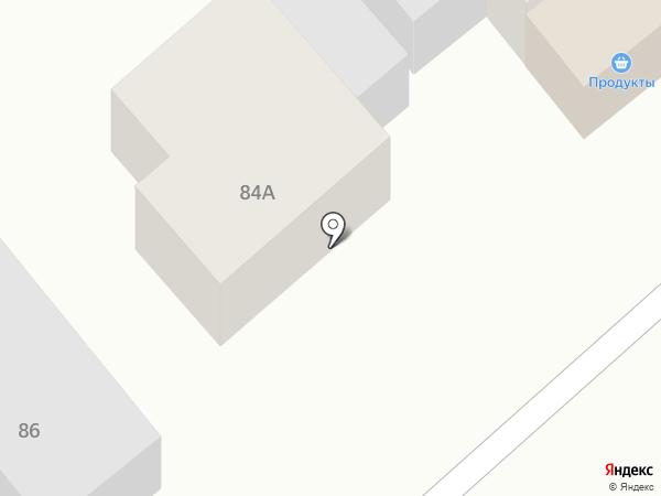 Продуктовый магазин на ул. Чайковского на карте Новокубанска