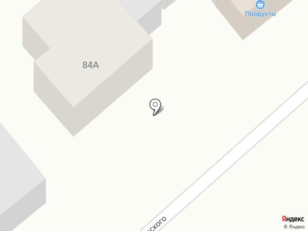 Продуктовый магазин на карте Новокубанска