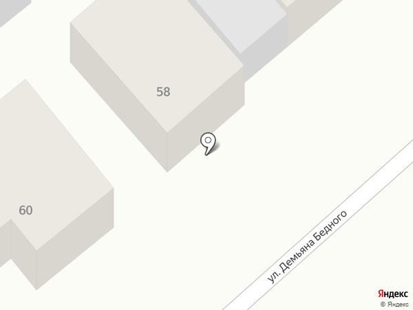 Автомойка на карте Новокубанска