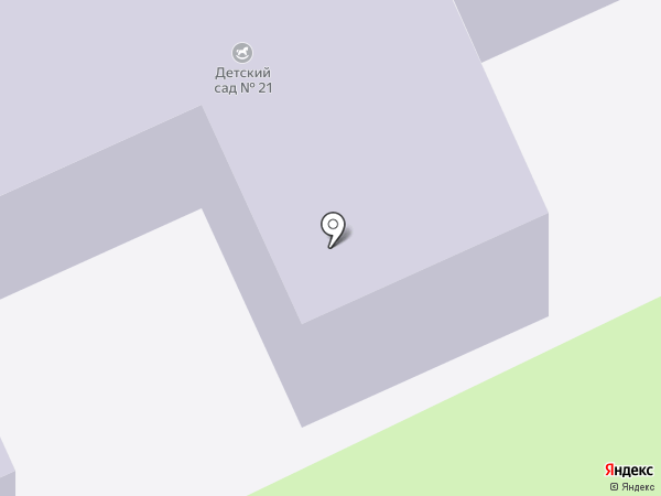 Детский сад №21, Буратино на карте Армавира