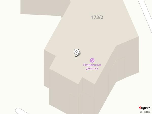Палуба на карте Армавира