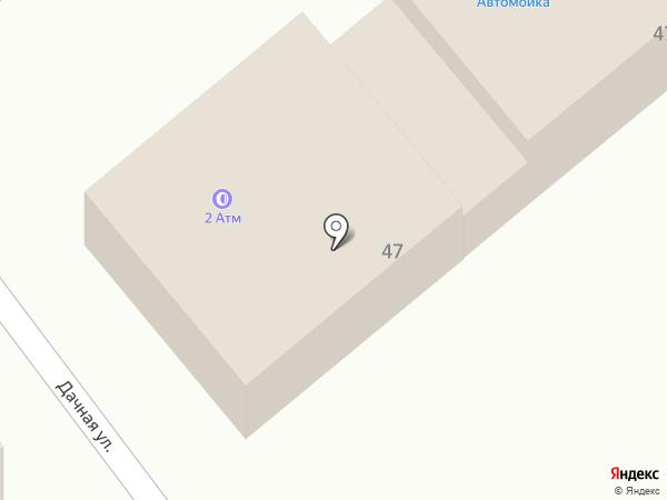 Шиномонтажная мастерская на карте Новокубанска