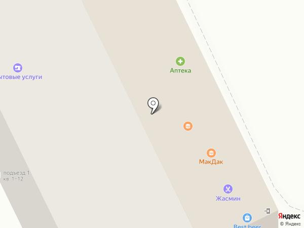 Идея на карте Армавира