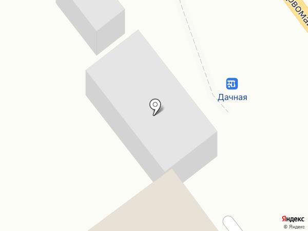 Стройконтинент на карте Новокубанска