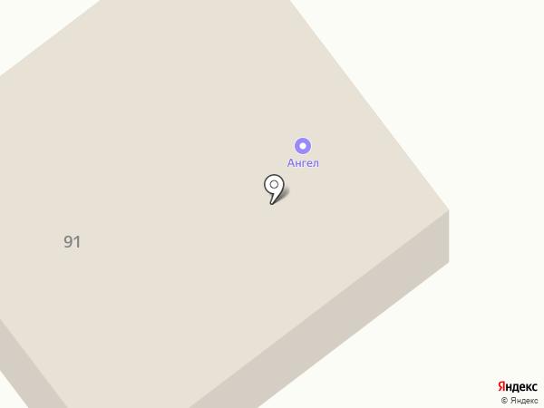 Ангел на карте Новокубанска