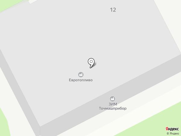 ЗИМ Точмашприбор на карте Армавира