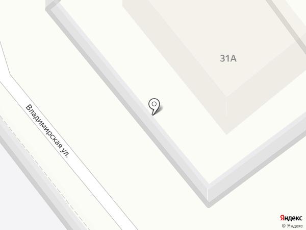 На перекрестке на карте Кохмы