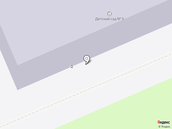 Детский сад №5 на карте Иваново