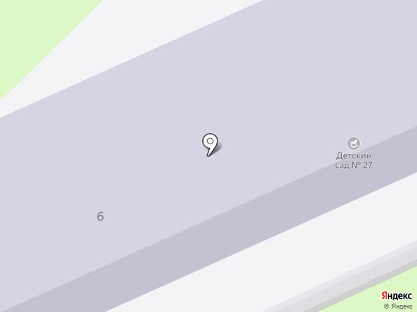 Детский сад №27, Радуга на карте Армавира