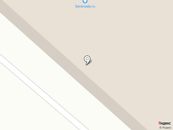 Серенада на карте Кохмы
