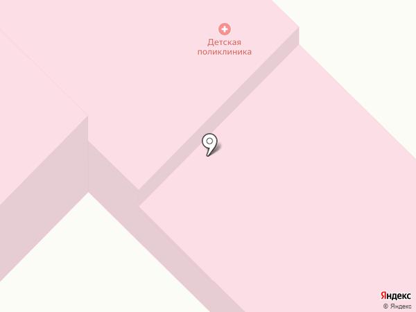 Детская поликлиника на карте Кохмы