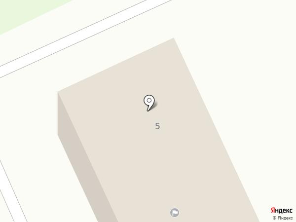 Администрация Караваевского сельского поселения на карте Караваево