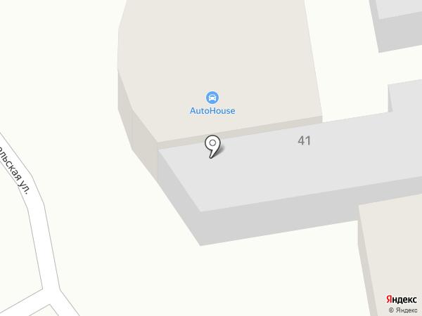 Auto House на карте Новокубанска