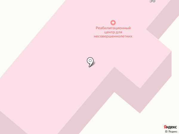 Армавирский социально-реабилитационный центр для несовершеннолетних на карте Армавира